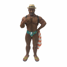 Poke The Bear Ornament - Beach Bear POC