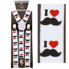 Suspenders - I Love Moustaches
