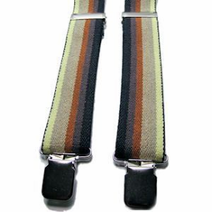 Suspenders - Bear Pride Canvas S/M