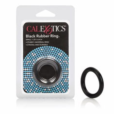 Rubber Cock Ring - Black Small