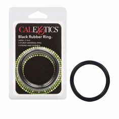 Rubber Cock Ring - Black Large