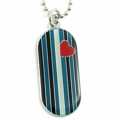 Dog Tag - Leather Pride