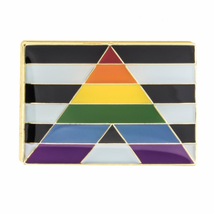 Lapel Pin - Straight Ally