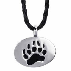 Necklace (Pewter) - Bear Paw