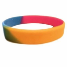 Bracelet (Silicone) - Pansexual  Pride