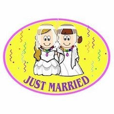 Magnet (Auto) - Just Married (Girls)