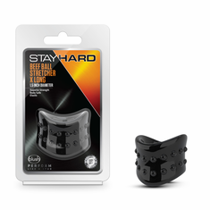 Stay Hard - Beef Ball Stretcher - Black X-Long