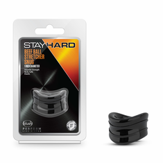 Stay Hard - Beef Ball Stretcher - Black Snug