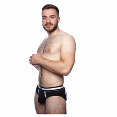 Prowler Classic Backless Brief - Black L