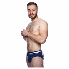 Prowler Classic Backless Brief - Navy L