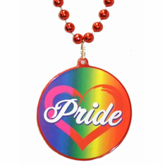Bead Necklace Pride - Red