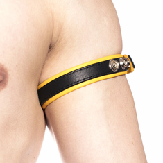 Prowler Red Bicep Band - Yellow O/S