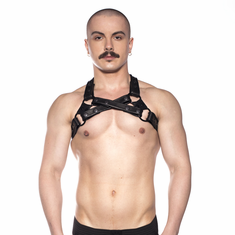 Prowler Red Cross Harness - Black S/M