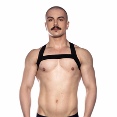 Prowler Red Sport Chest Harness - Black L/XL