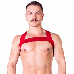 Prowler Red Sport Chest Harness - Red O/S