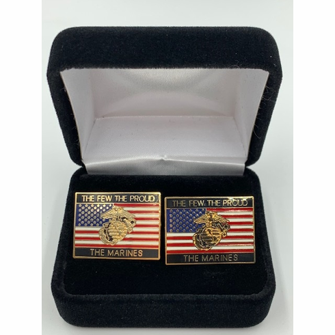The Few The Proud The Marines Cufflink