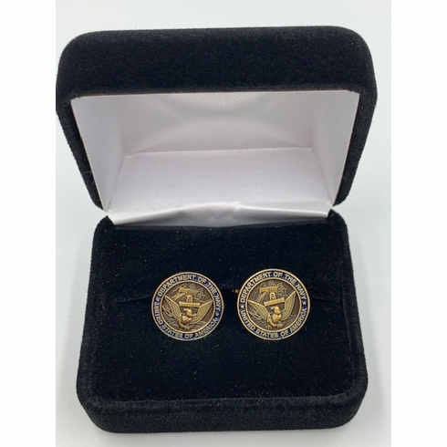Department of the Navy United States of America Cufflink