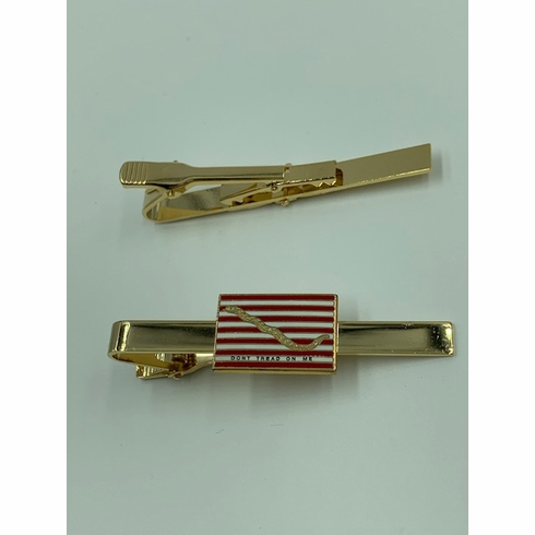 First Navy Jack Don't Tread On Me Tie Bar