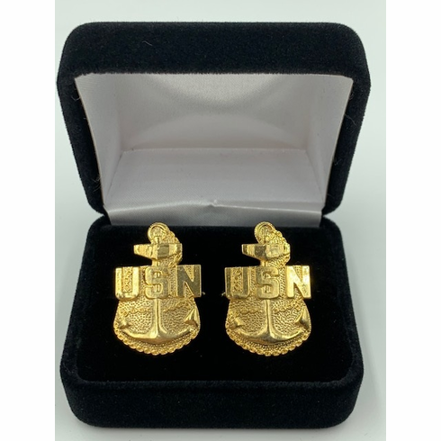 United States Navy Chief Petty Office (CPO) Cuff Links