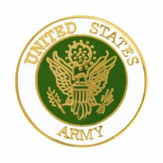 United States Army Insignia Pin