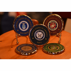 CHALLENGE COIN COASTER