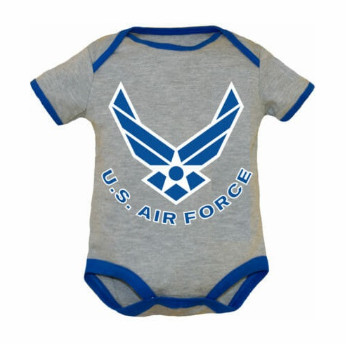 Air Force Wing Baby Bodysuit