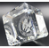 CRYSTAL CUBES WITH LOGO