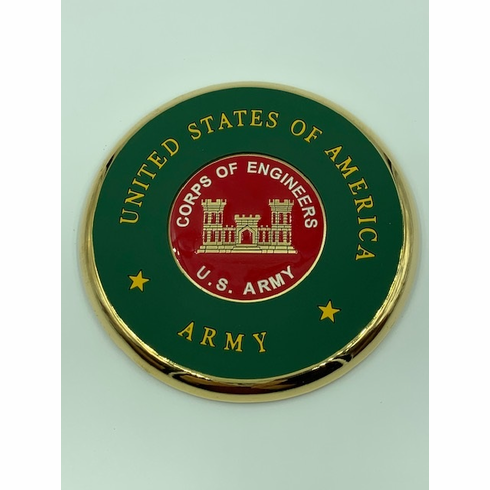 Corps of Engineers Coin Coaster