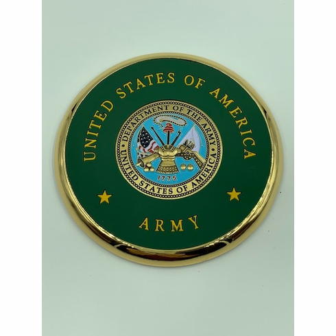 Department of the Army Coin Coaster