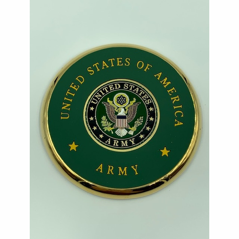United States Army Seal Coin Coaster