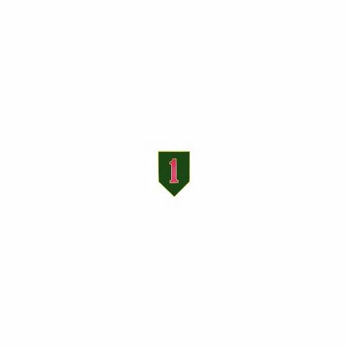 1st Infantry Division Pin