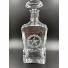 USMS Crystal Decanter