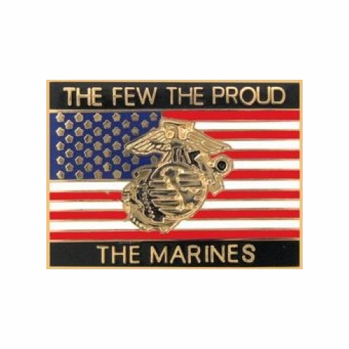 The Few The Proud The Marines Pin