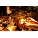 """""""Wine & friends are a great blend"""" -Ernest Hemingway"""