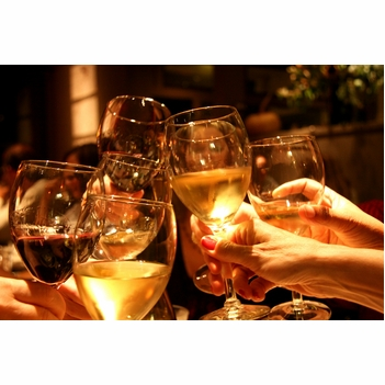 """Wine & friends are a great blend"" -Ernest Hemingway"
