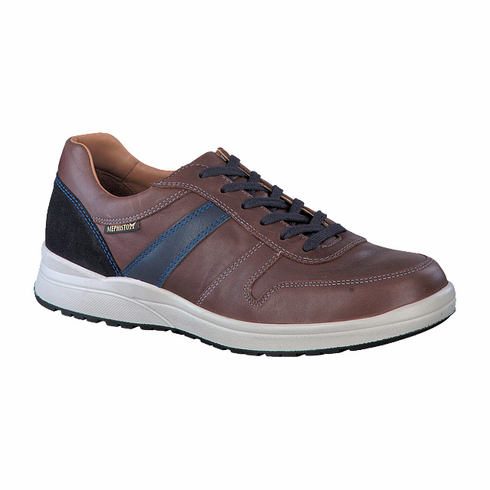 VITO CHESTNUT AND NAVY RANDY / BLUE SUEDE VELSPORT
