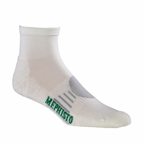 BOCA MINI CREW SOCK IN WHITE ($100.00 minimum TOTAL ORDER)