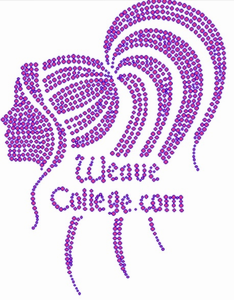Crystal Weave College Apparel