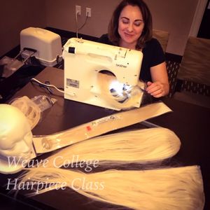 Hairpiece Making Class - CLICK TO BUY