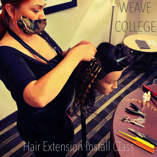 Hair Extension Techniques Install Class - CLICK TO BUY