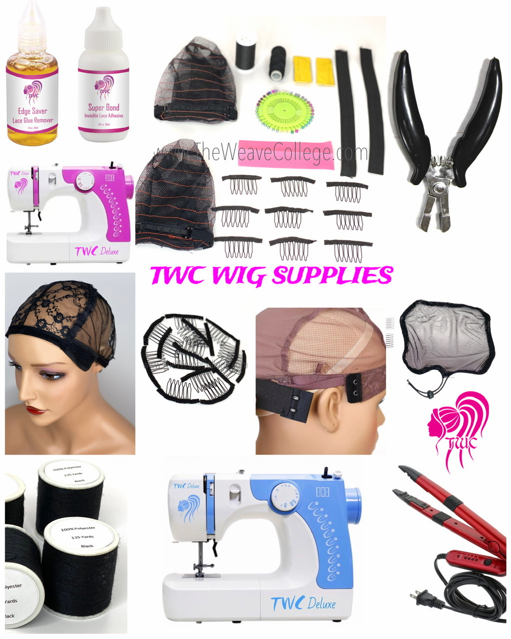 TWC Wig Supplies  | Click Here