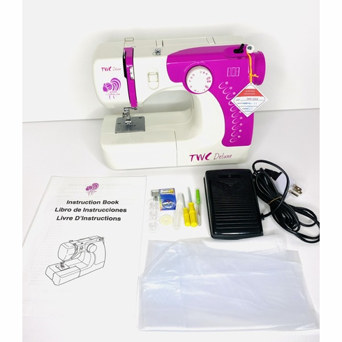Pink TWC Deluxe Sewing Machine IN-STOCK