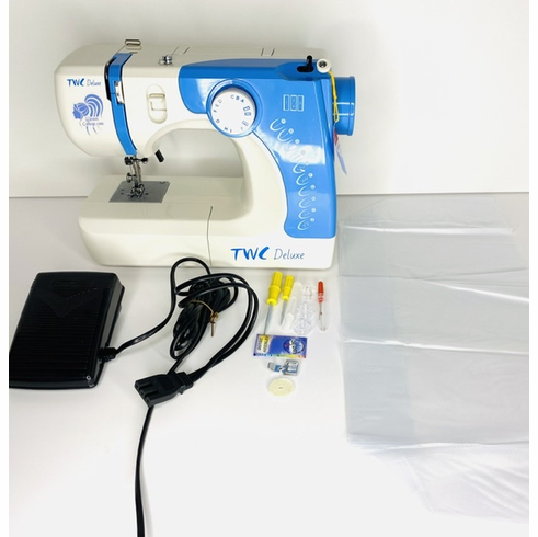 Blue TWC Deluxe Sewing Machine IN-STOCK