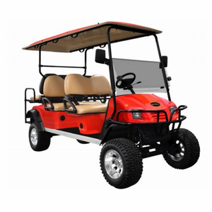 "Star Sport-Series 48V 6-Seater <br> with Lift Kit, 12"" Aluminum Wheels, & 23"" Off-Road Tires"