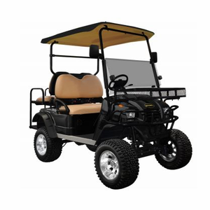 """Star Sport-Series 48V 4-Seater <br> with Lift Kit, 12"""" Aluminum Wheels, & 23"""" Off-Road Tires"""