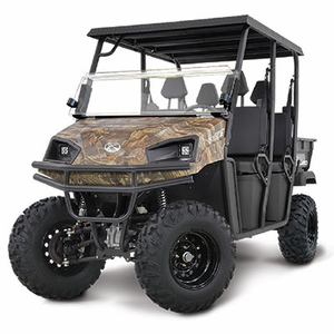 4 Wheel Drive <br> Kohler Commercial <br> 694cc V-Twin EFI Engine <br> CREW MODEL 4-SEATER
