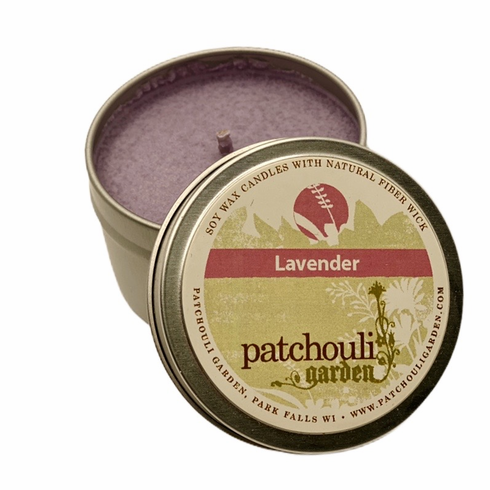 Lavender Soy Tin Candle