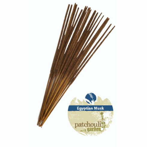 "Egyptian Musk ""Patchouli Garden"" Premium Incense"
