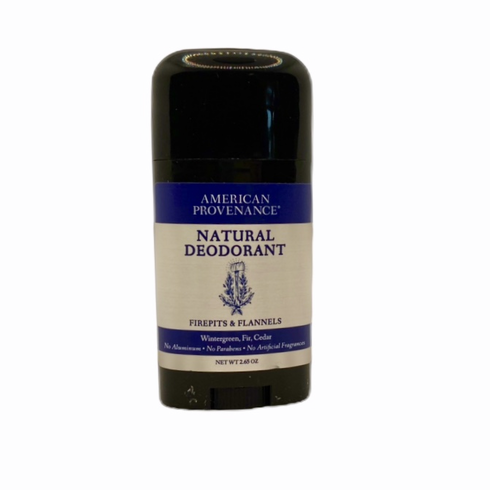 American Provenance Firepits & Flannels Natural Deodorant
