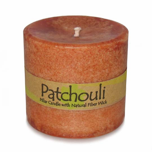 Patchouli Pillar Candle
